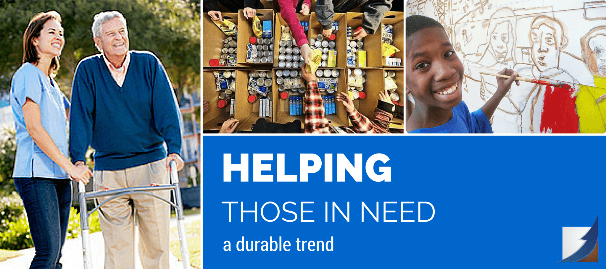 Helping Those in Need: A Durable Trend
