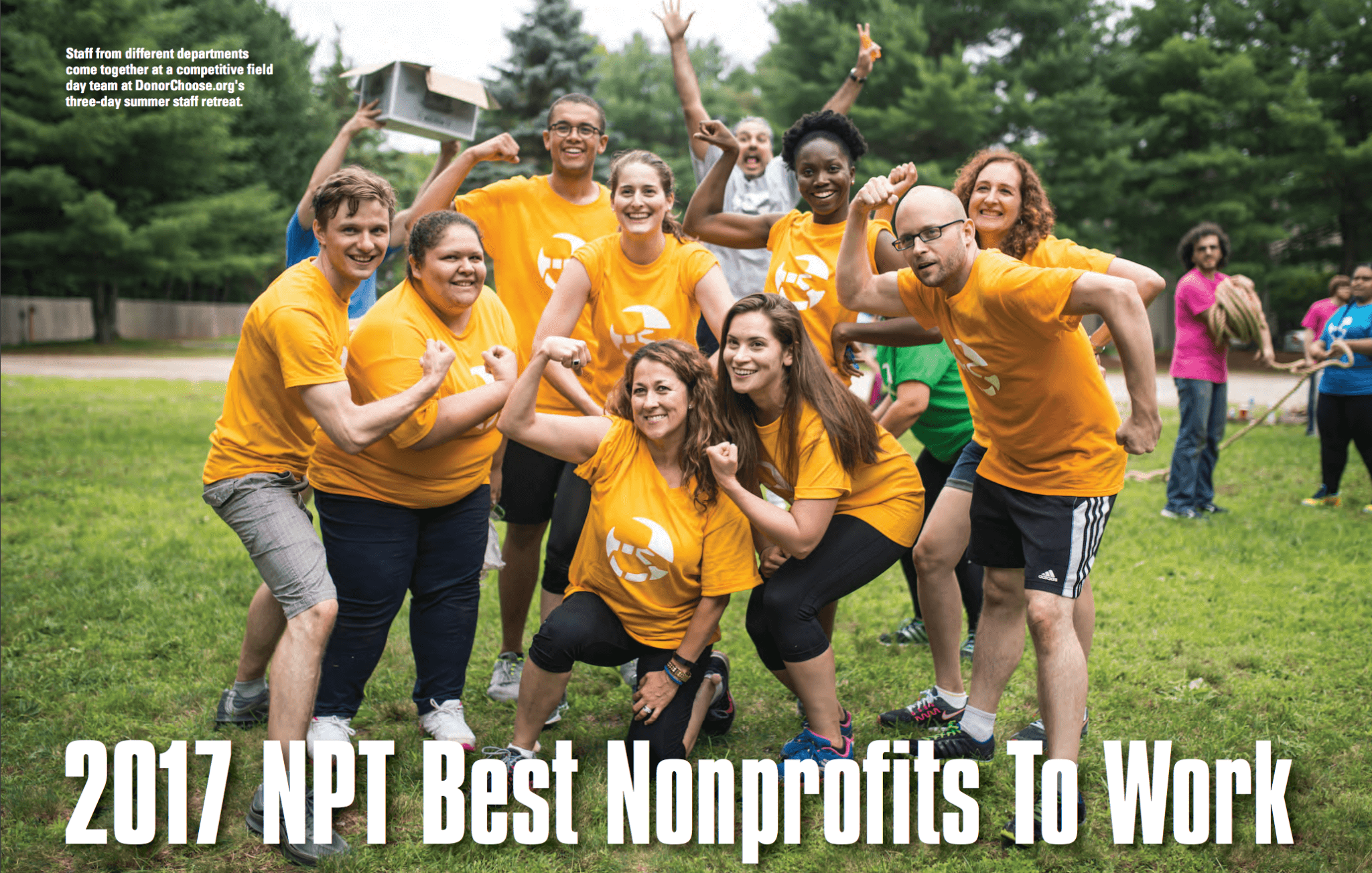 Best Nonprofits to Work for in 2017
