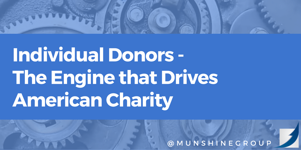 Individual Donors – The Engine That Drives American Charity