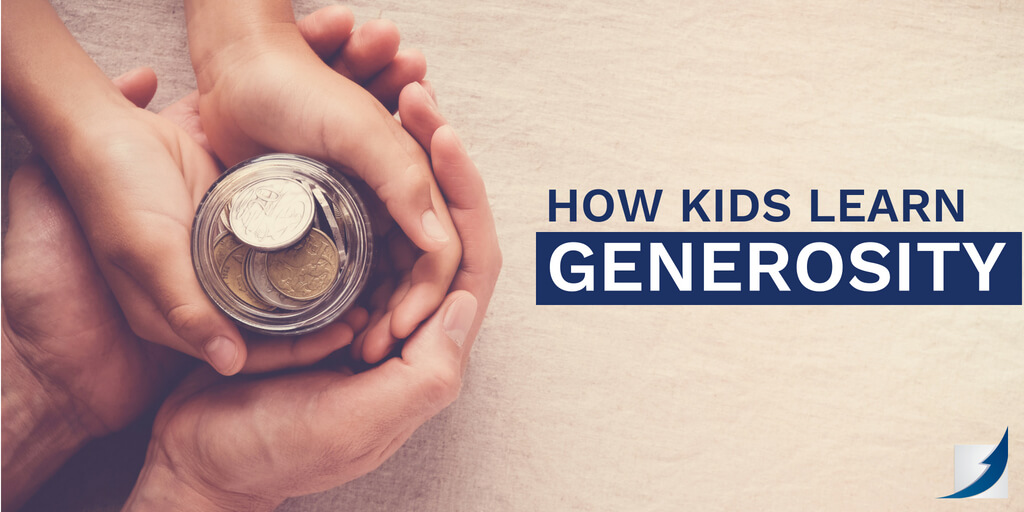 How Kids Learn Generosity